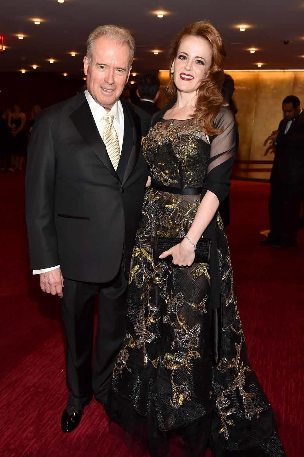 Datamiljardair Robert Mercer met zijn dochter Rebekah. – © Patrick McMullan / Getty Images