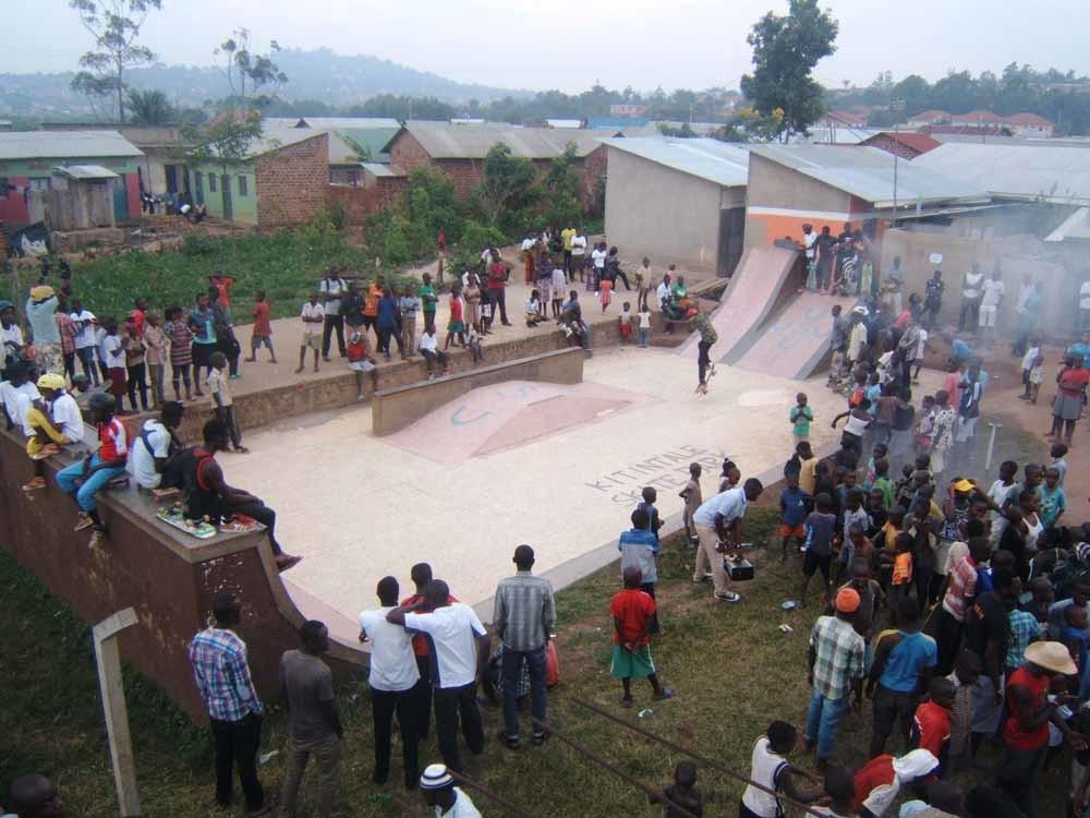Skatepark in Oeganda. – © Uganda Skateboard Union