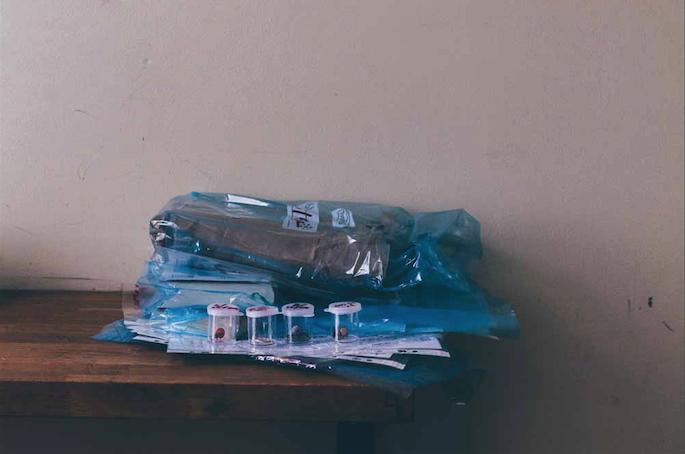 Gereinigde relikwieën van vorige relaties. – © Anna Eckold