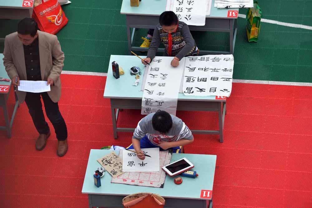 Een Chinees karakter bevat weinig of geen informatie over de klank die ermee correspondeert. – © Getty