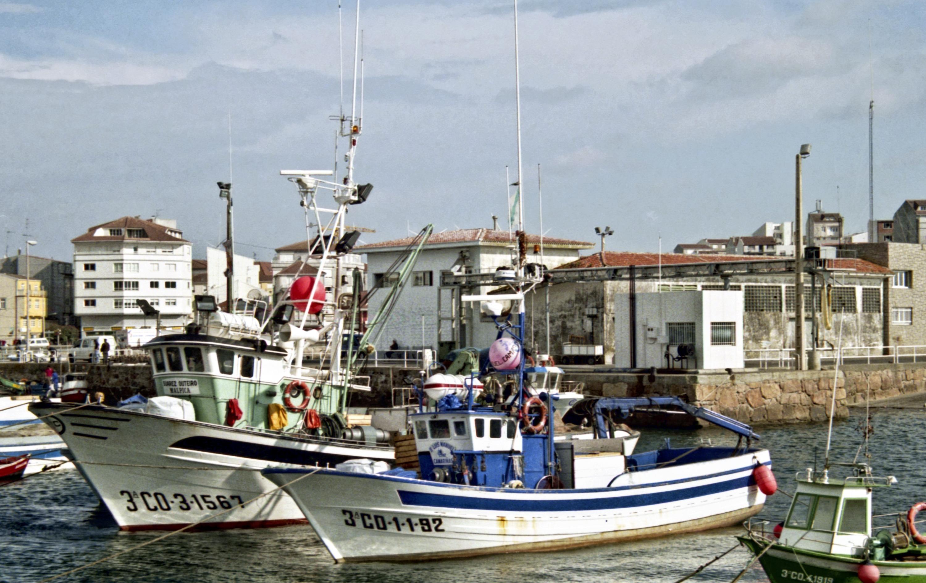 Een vissershaven in Galicië. – © Flickr