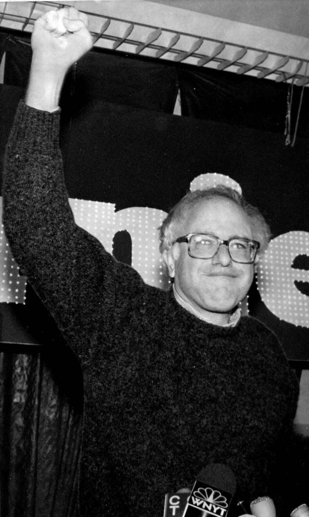 In 1988 werd Sanders de eerste onafhankelijke volksvertegenwoordiger die in 40 jaar verkozen was tot het Huis van Afgevaardigden.  – © Rob Swanson