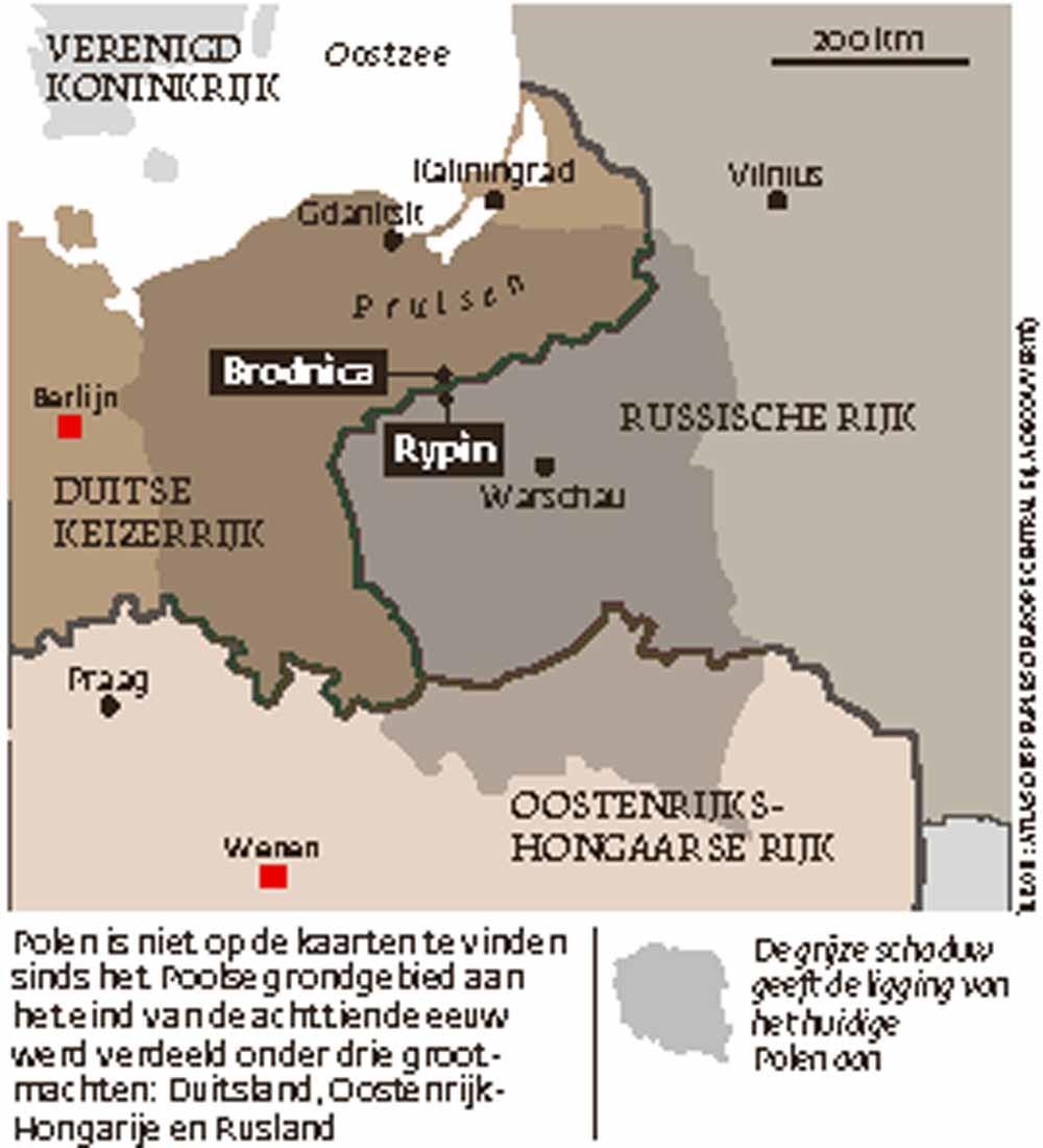 Situatie in 1914