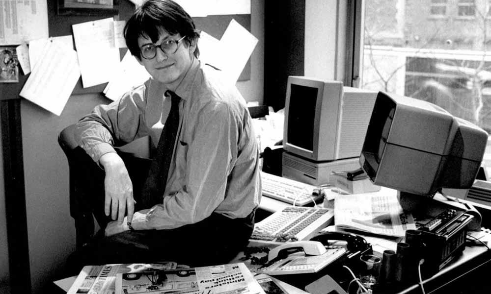 Alan Rusbridger in 1995. – © The Guardian
