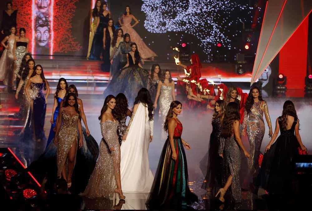 De Miss Libanon-verkiezing van 2018 in Beiroet, 30 september 2018. – © HH