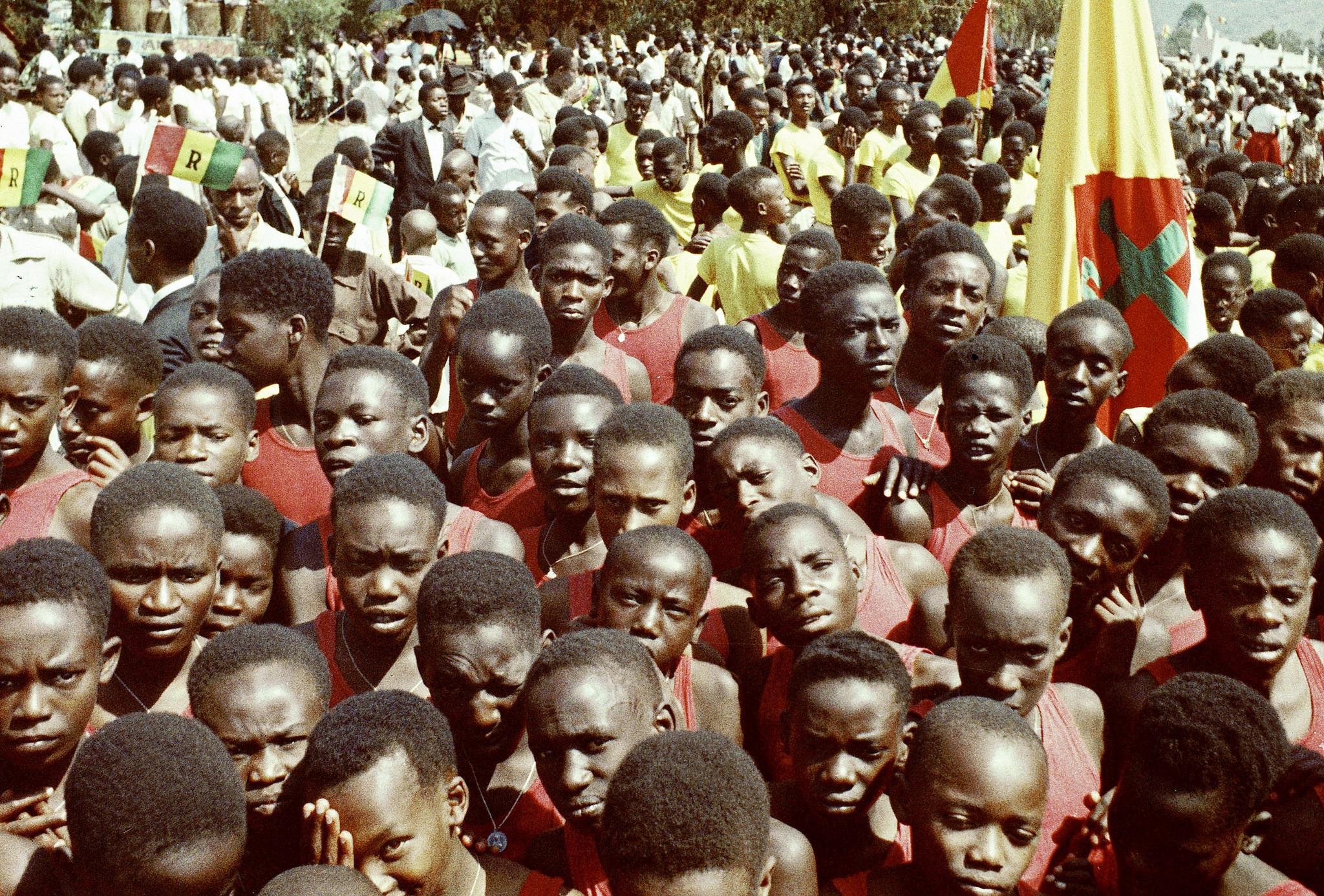 Viering van de onafhankelijkheid van Rwanda in 1962