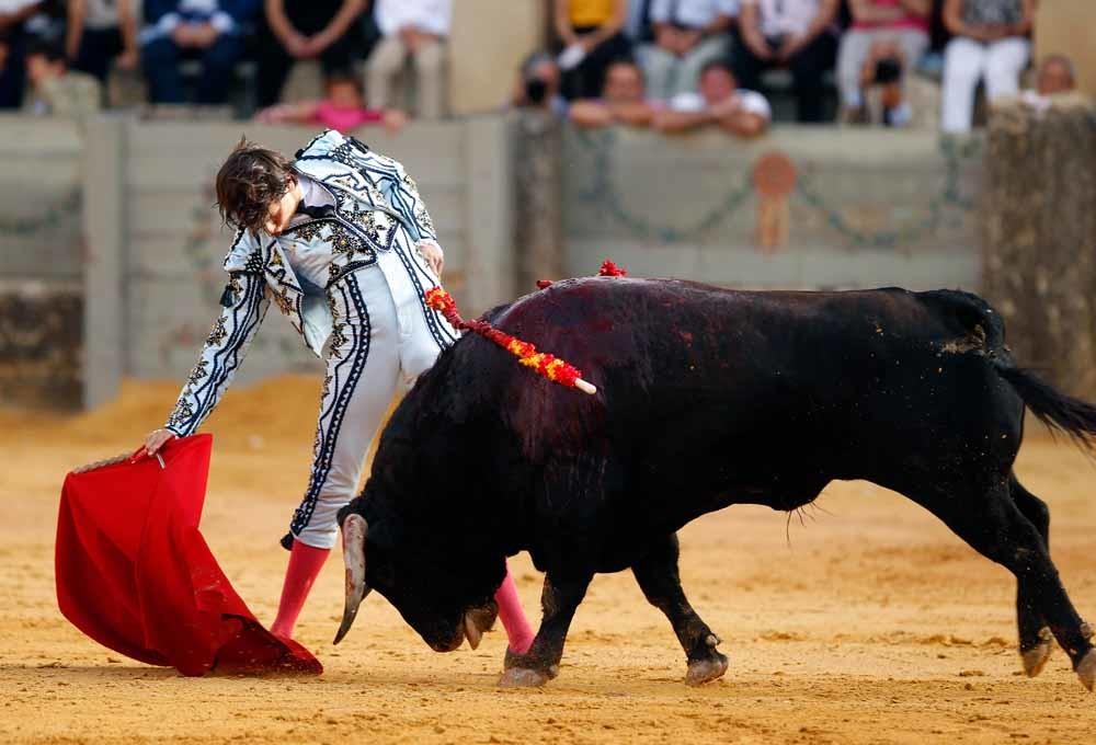 Andrés Roca Rey in september 2018 tijdens de Goyesca-stierengevechten in Ronda, Spanje. © Getty Images