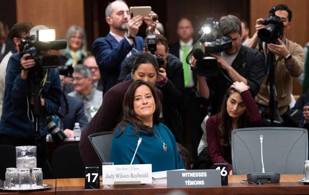 De voormalige Canadese minister van Justitie, Jody Wilson-Raybould, verklaarde dat de regering haar onder grote druk heeft gezet.