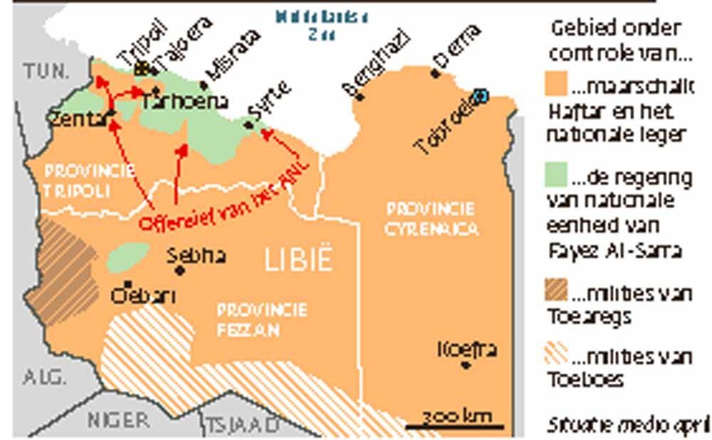 Slag om Tripoli  © Courrier International