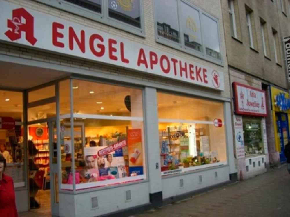 De Engel-Apotheke van Sven Villnow.