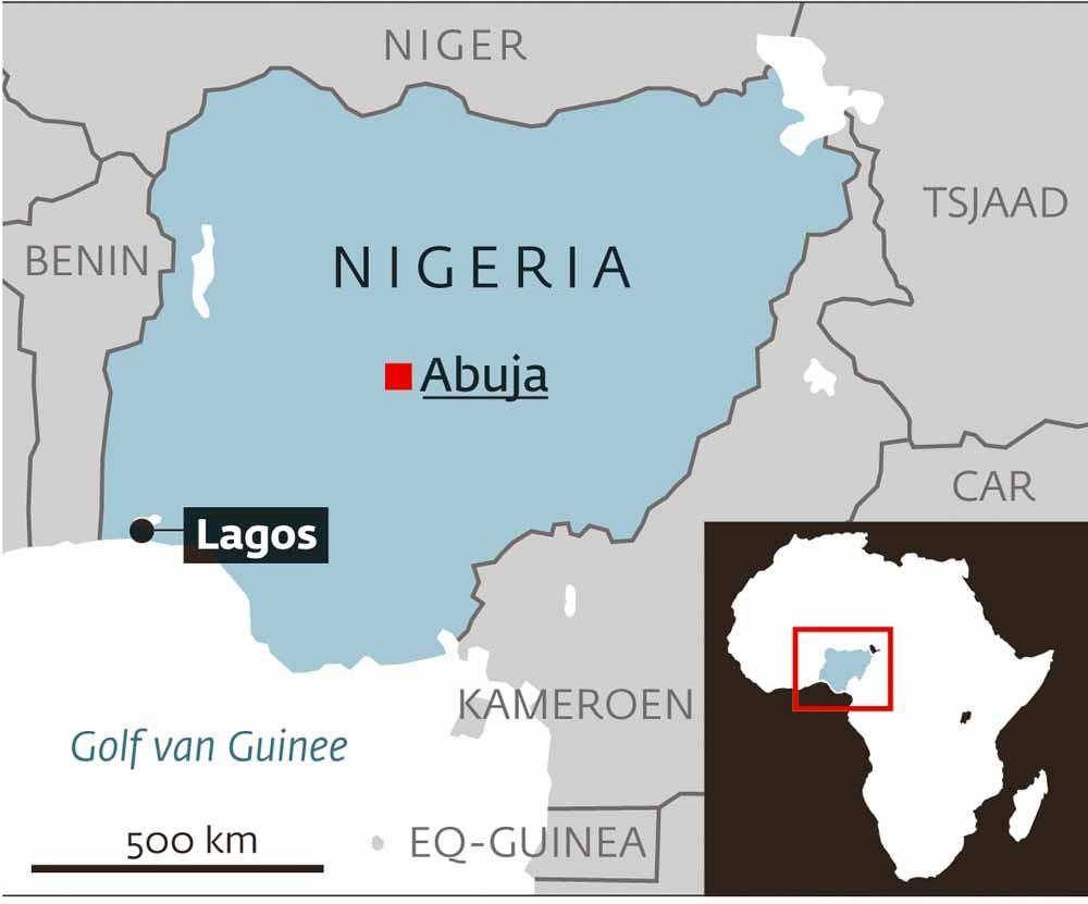 Lagos, 21 miljoen inwoners
