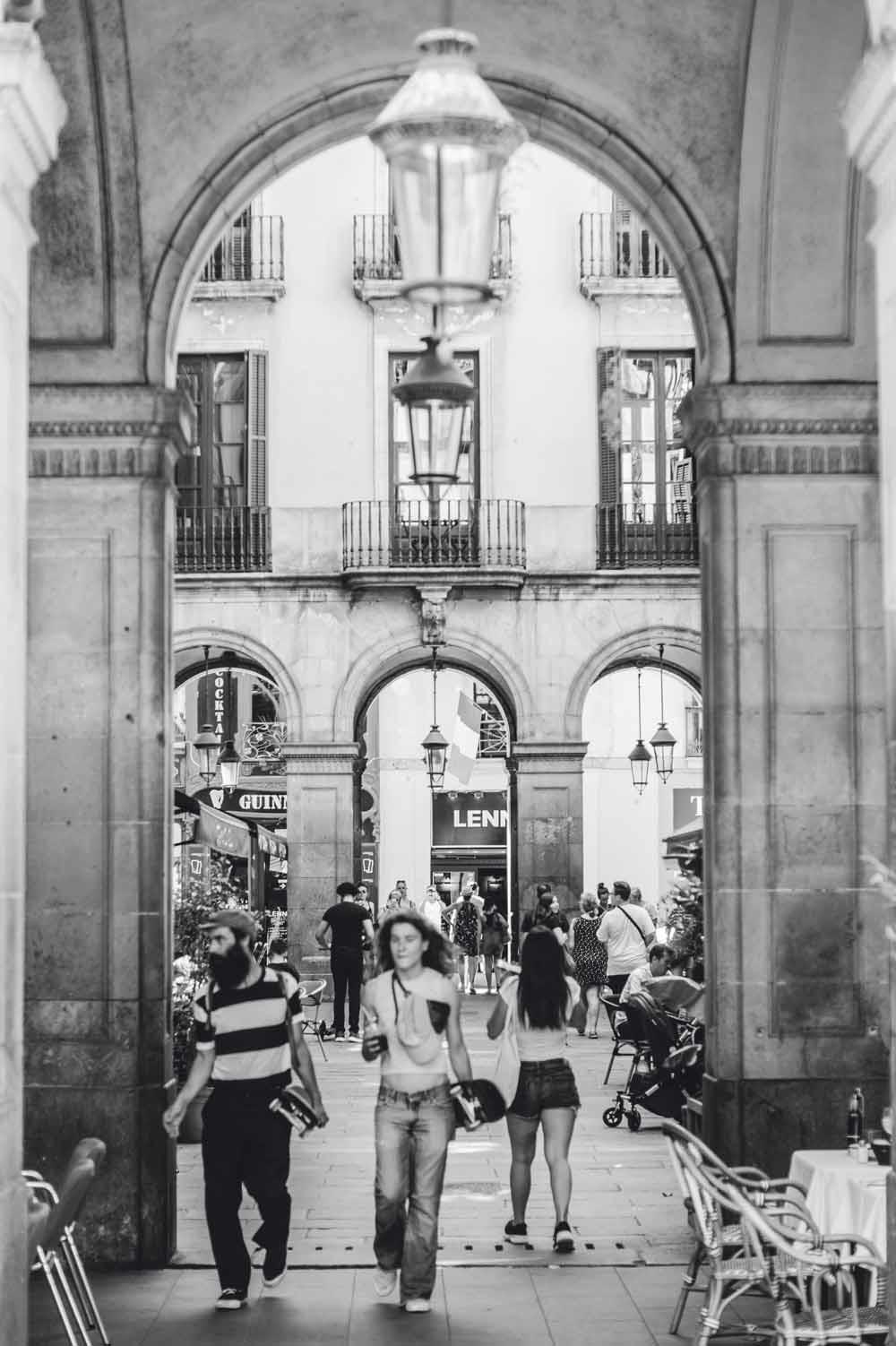 Op een paar passen verwijderd van Instagram-Barcelona.  © Jonathan Ford / Unsplash