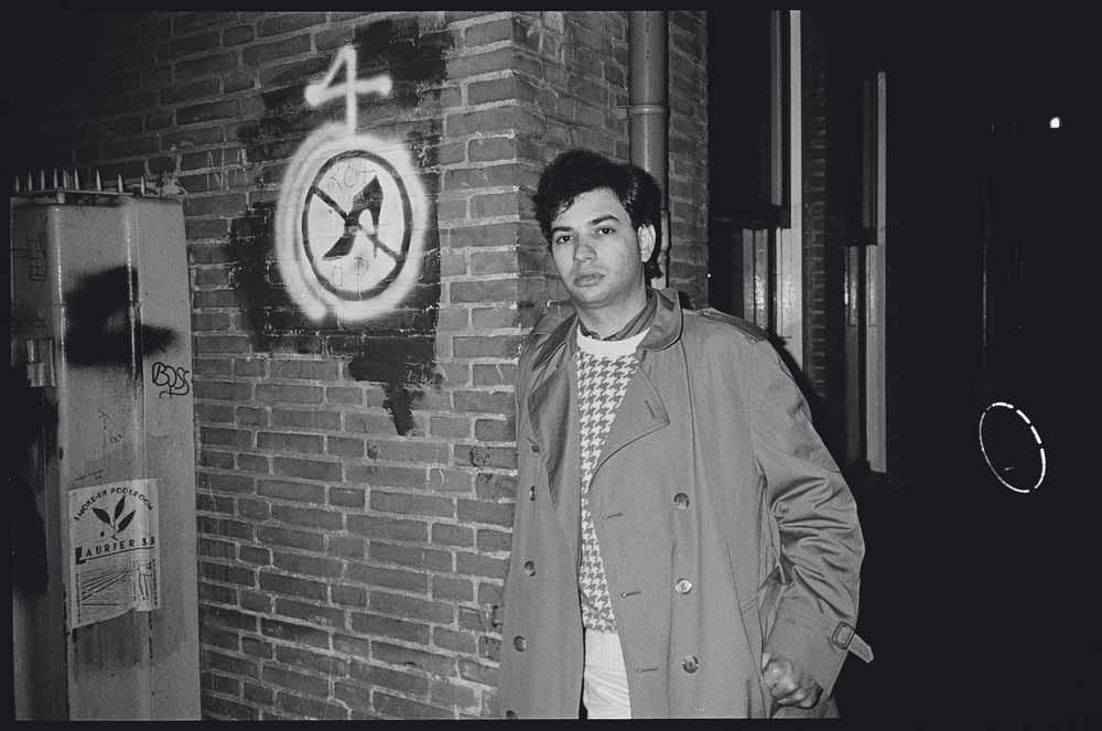 Lowell Handler door Oliver Sacks, Amsterdam, december 1987 – © Lowell Handler