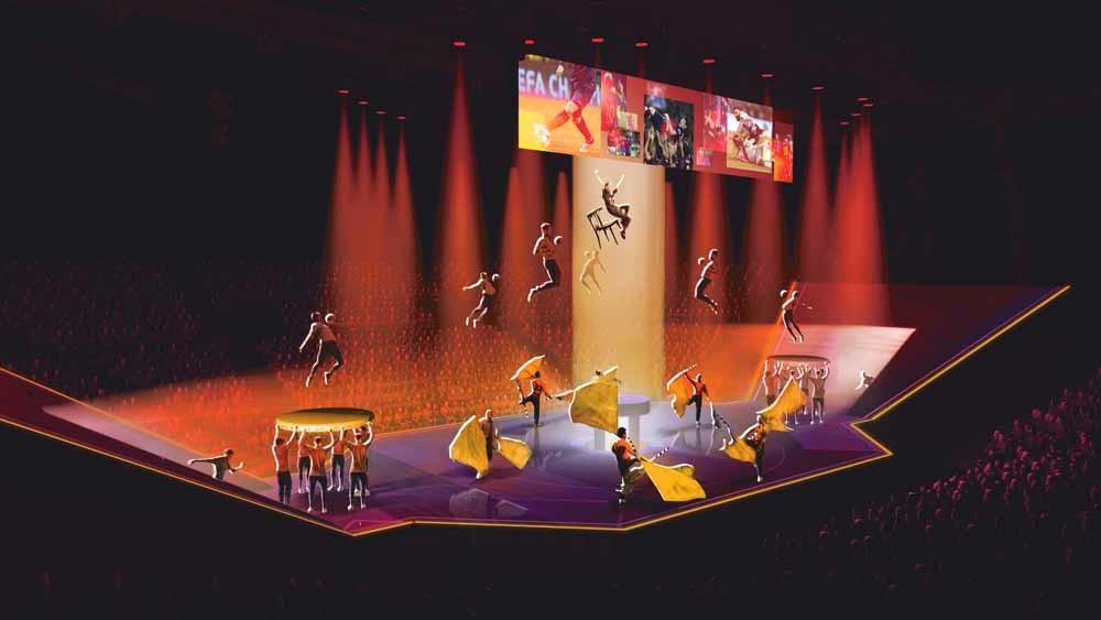 'We zijn geen traditioneel circus, we bedenken acts die nooit eerder zijn vertoond,' zegt Igor, een van de hoofdtrainers van de show. – © Cirque du Soleil