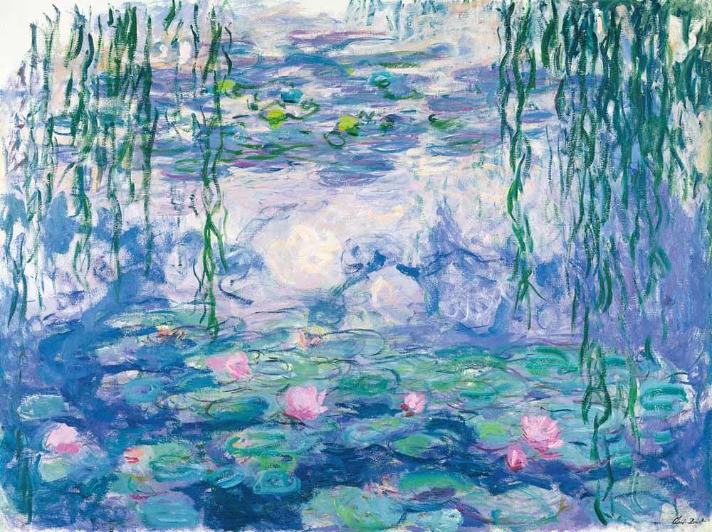 © Claude Monet, Waterlelies, Musée Marmottan.