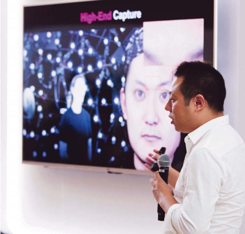 Hao Li houdt zich zijn hele werkzame leven al bezig met het verbeteren van de digitale manipulatie van gezichten. – © Hao Li