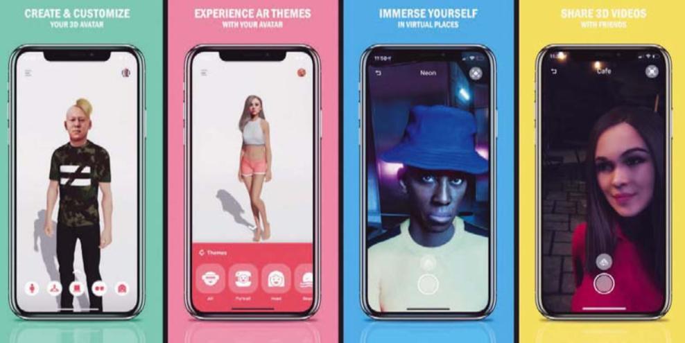 Op basis van één enkele foto kan de Pinscreen-app een fotorealistische 3D-avatar maken. Je kunt je avatar malle dansjes laten doen, verschillende outfits aantrekken of gekke bekken laten trekken. – © Hao Li