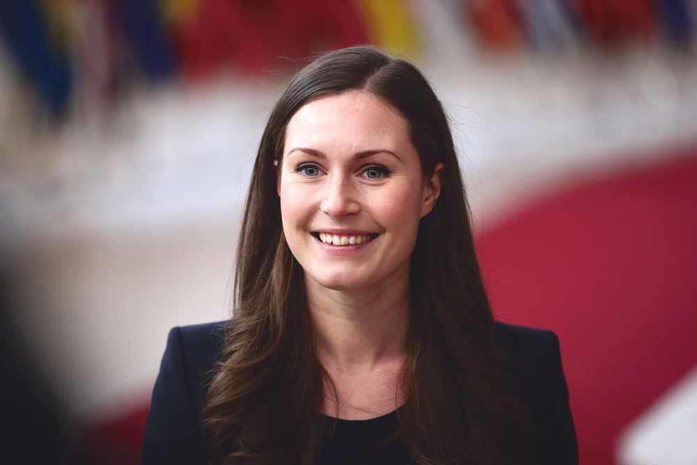 De aanstelling van de 34-jarige als minister-president wordt een overwinning van het feminisme genoemd. Toch is de rechtse partij Ware Finnen het grootst, een partij die antifeministisch is en haat tegen vrouwen verspreidt. – ©Zheng Huansong Xinhua/ HH