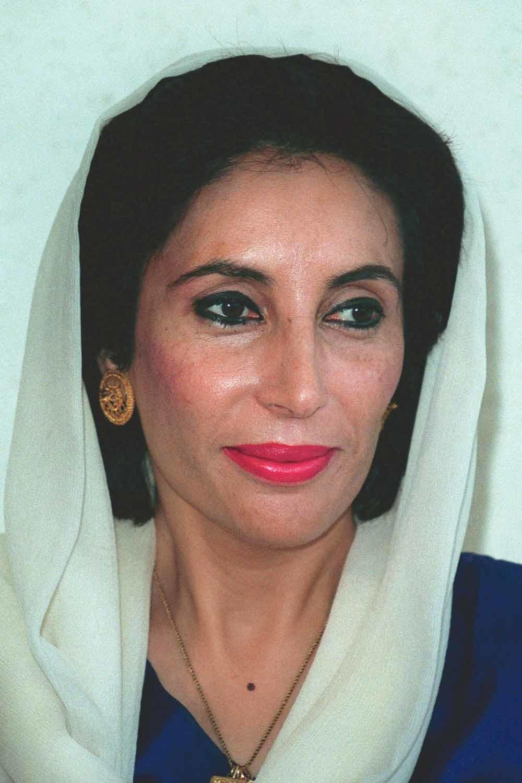 Benazir Bhutto werd in  1993 de eerste vrouwelijke premier van Pakistan op 35-jarige leeftijd. Zij was destijds niet alleen de  jongste premier, maar ook de eerste moslimvrouw ter wereld die een land leidde.  © Mary Evans Picture  Library Ltd. / HH