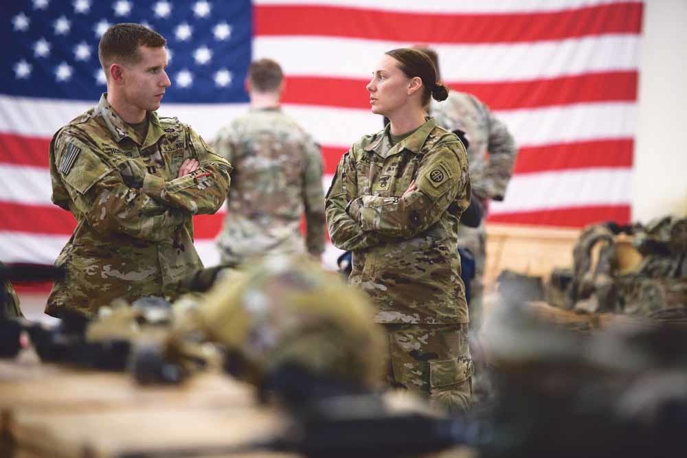 De Verenigde Staten sturen vanwege alle onrust drieduizend extra militairen naar het Midden-Oosten. – © Getty