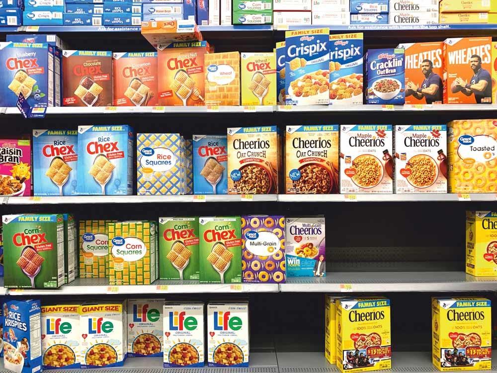 In Chili is het verboden om op cerealsverpakkingen stripfiguren af te beelden. – © Unsplash