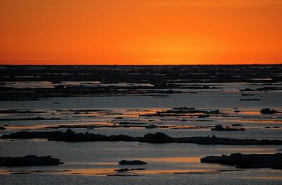 'Als het ijs gesmolten is, zullen deze zonsondergangen er niet meer zijn.'