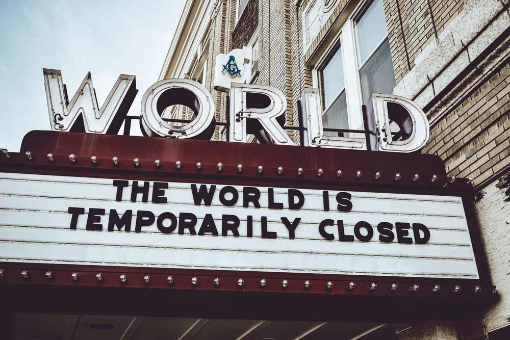 Ook bioscoop The World in Kearney in de Amerikaanse staat Nebraska is gesloten in verband met de coronamaatregelen. © Unsplash