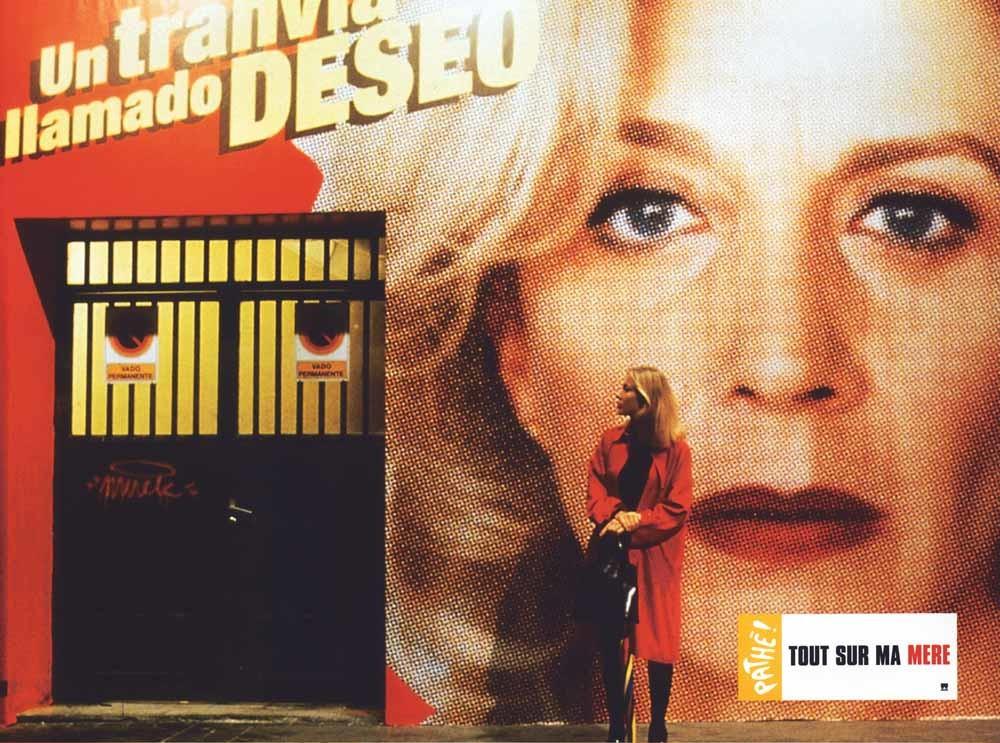 Cecilia Roth in Todo sobre mi madre (1999). De film kreeg zowel een Oscar als een BAFTA-award en een Golden Globe voor de beste buitenlandse film.