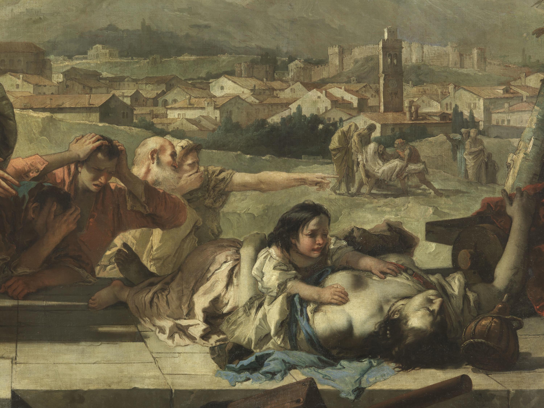 De pestepidemie door Giambattista Tiepolo, 1758. – © Getty