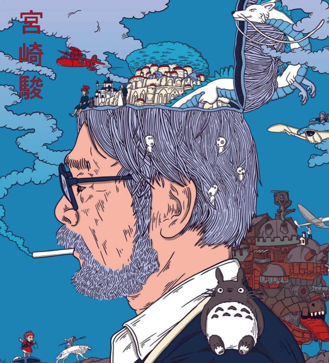 Vliegen speelt een centrale rol in de films van Hayao Miyazaki. – © Murugiah