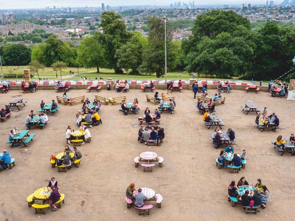 4 juli 2020, Londen, Verenigd Koninkrijk – © Peter Dench / Getty