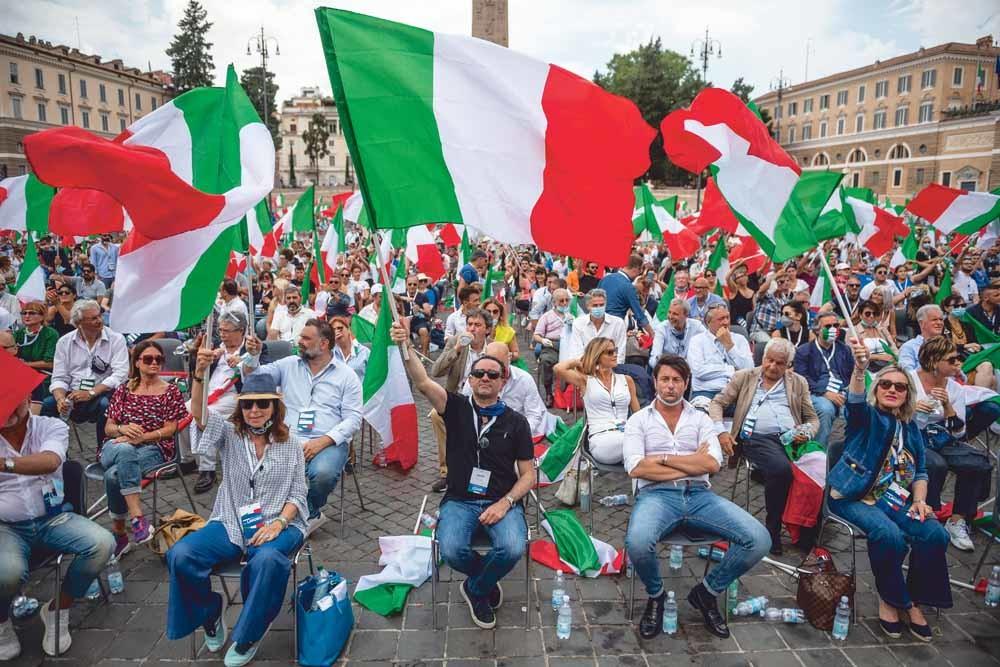 4 juli 2020, Rome, Italië – © Antonio Masiello / Getty