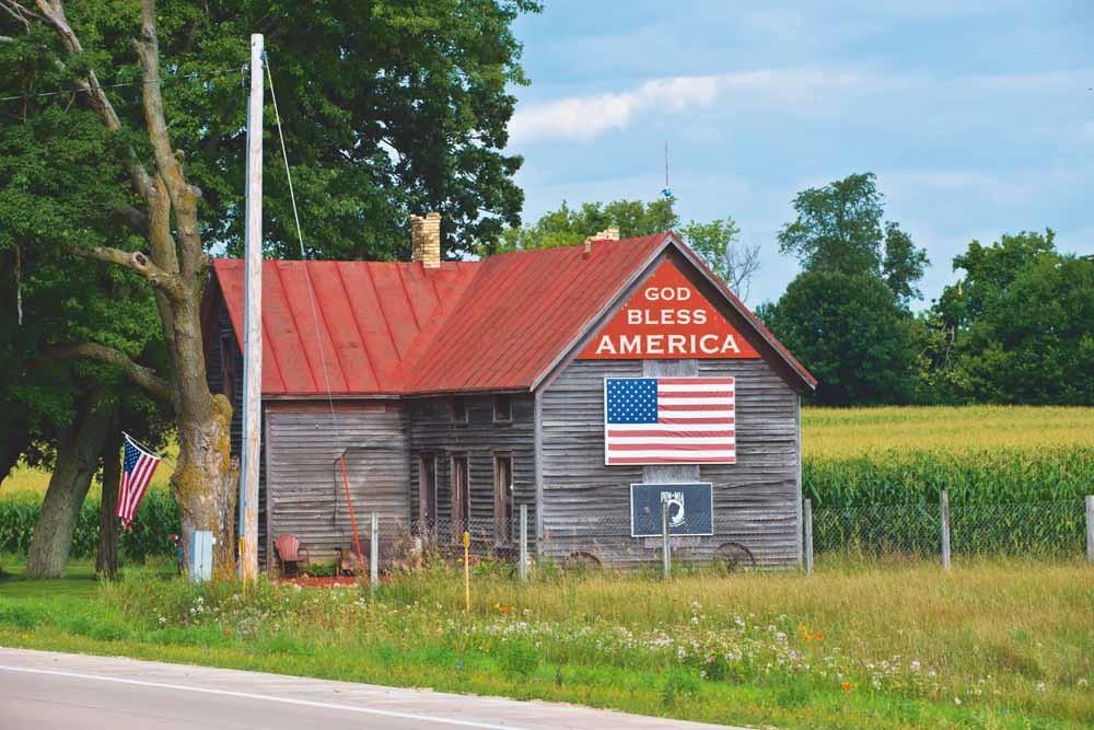 De Amerikaanse schrijver Henry David Thoreau noemde 'patriottisme een made in het hoofd'. – © Education Images / Getty
