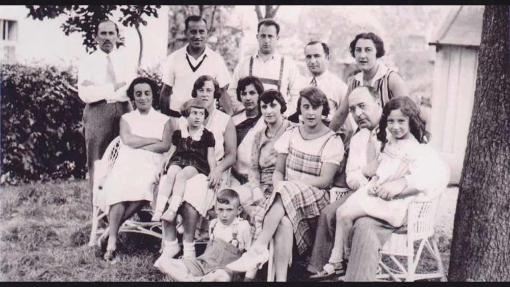 De families Dichter, Aptowitzer (Walter Arlen nam de achternaam Arlen aan in de VS) en Pritzker op vakantie in Bad Sauerbrunn, eind jaren twintig.