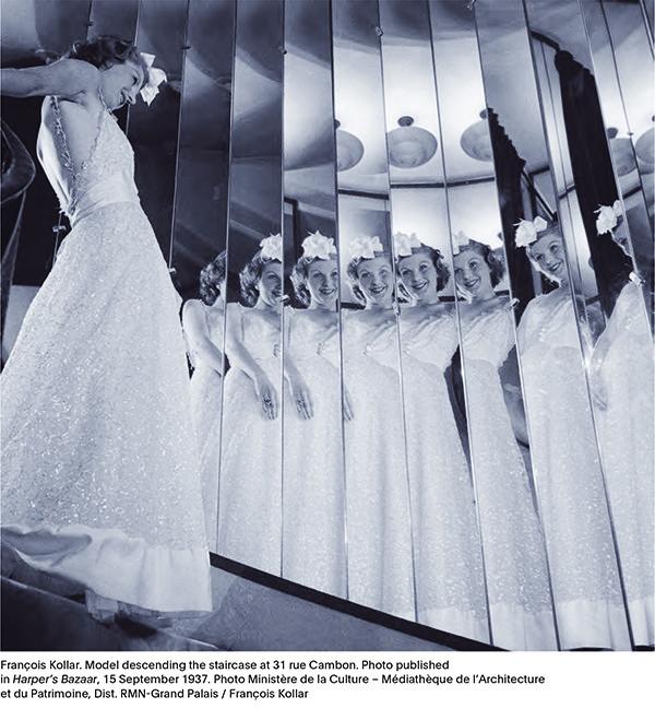 Chanel-model, foto uit Harper's Bazaar, 1937. –© Ministère de la Culture - Médiathèque de l'Architecture et du Patrimoine, Grand Palais / François Kollar