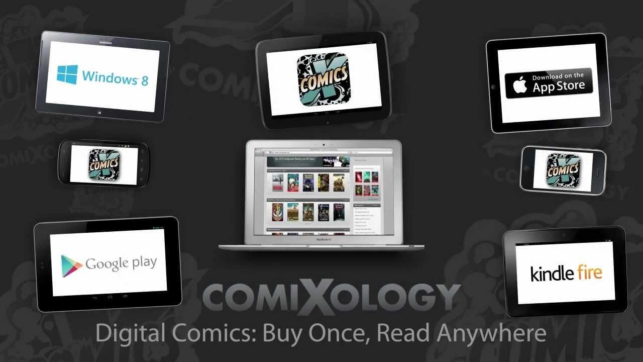 De app Comixology: 'Met een iPhone heb je in feite een complete stripwinkel op zak.'