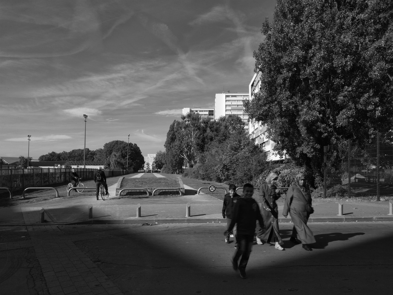 'De andere Fransen' in de voorstad Thiais. – © Pierre-Olivier Deschamps / Hollandse Hoogte