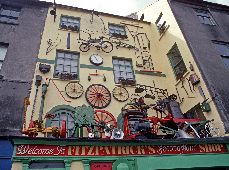 Een winkel uit de oude tijd in Cork. – © Alain Le Garsmeur / Getty Images