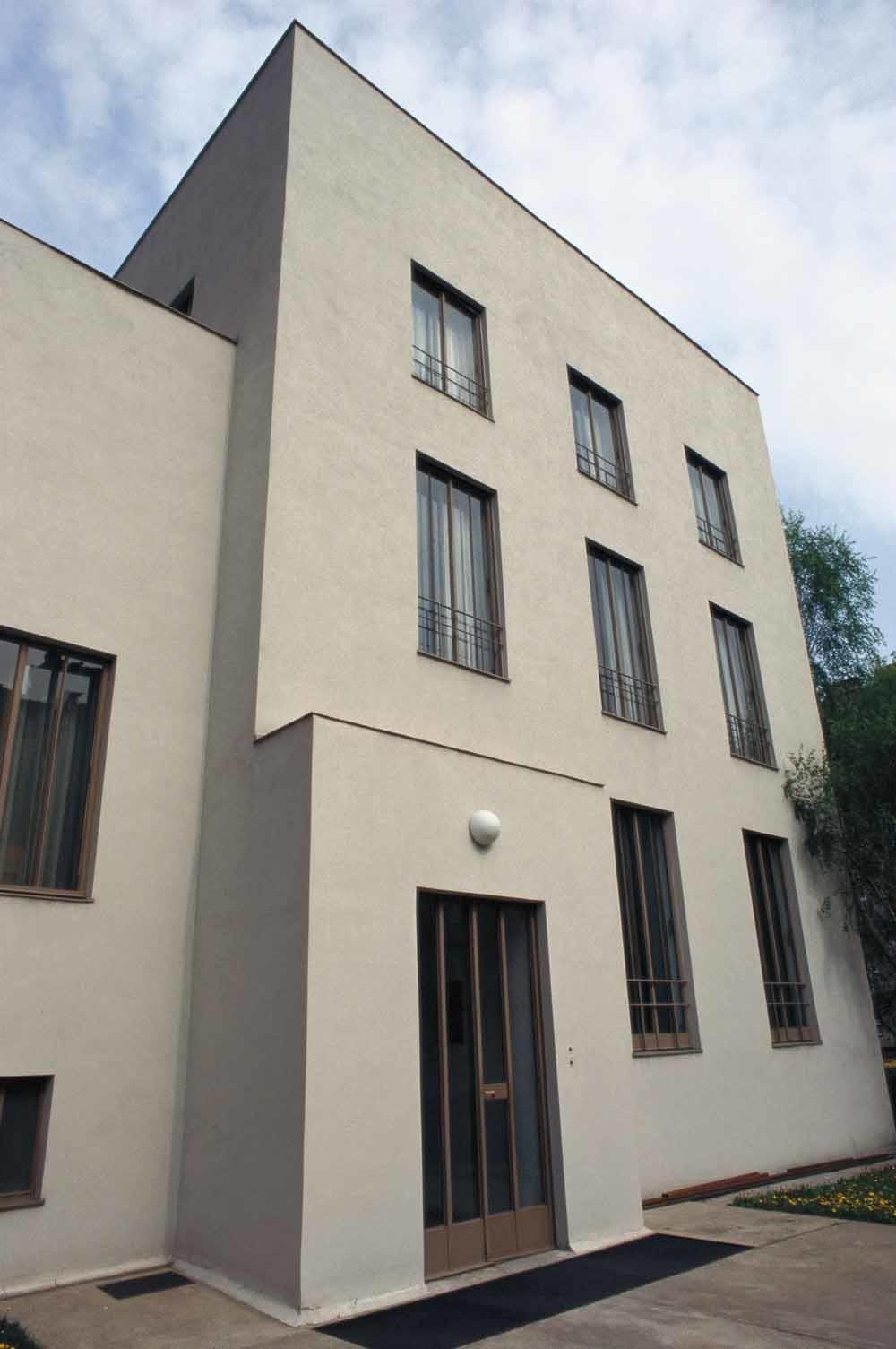Het huis van Gretl Wittgenstein in Wenen dat nu onderdak biedt aan de Bulgaarse ambassade. – © Dagmar Landova / Getty
