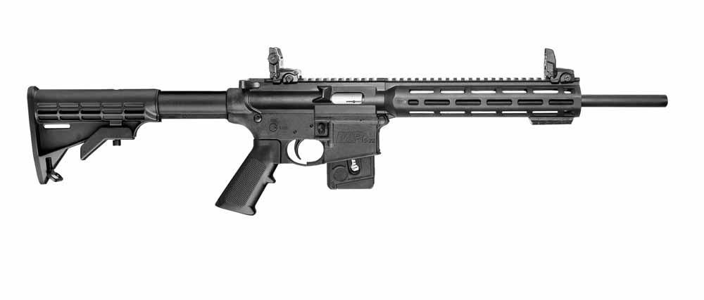 San Bernardino, Californië, december 201. Aanvalsgeweren van Remington en Smith & Wesson. 14 doden, 21 gewonden.