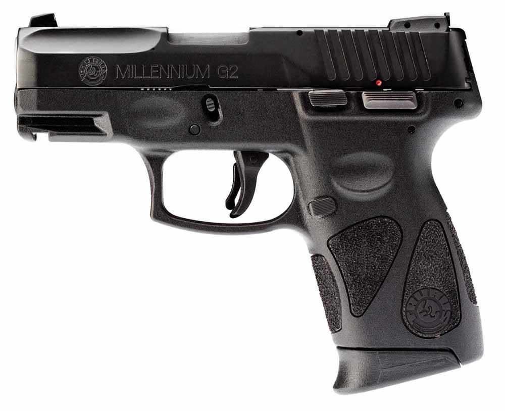 Roseburg, Oregon, oktober 2015. Pistolen van Taurus,  Smith & Wesson en Glock. 9 doden, 9 gewonden.
