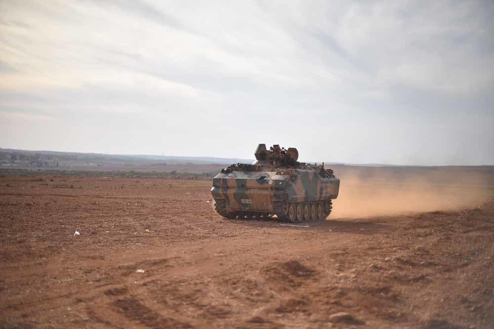 Het Vrije Syrische Leger bij Aleppo. – © Getty