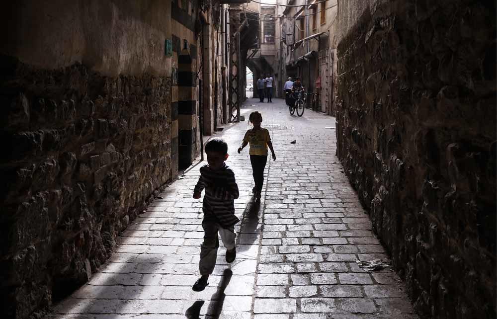De Syrische hoofdstad Damascus, geboorteplaats van schrijver Odai Al Zoubi. – © Valery Sharifulin / Getty Images